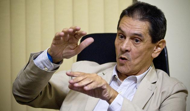 O presidente nacional do PTB, Roberto Jefferson em entrevista à Folha de S. Paulo