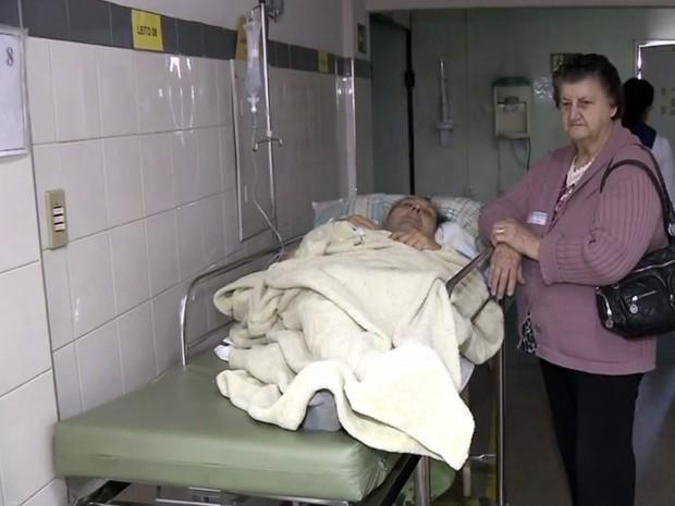 Segundo hospital, pronto-socorro está sobrecarregado com demanda de pronto atendimentos.