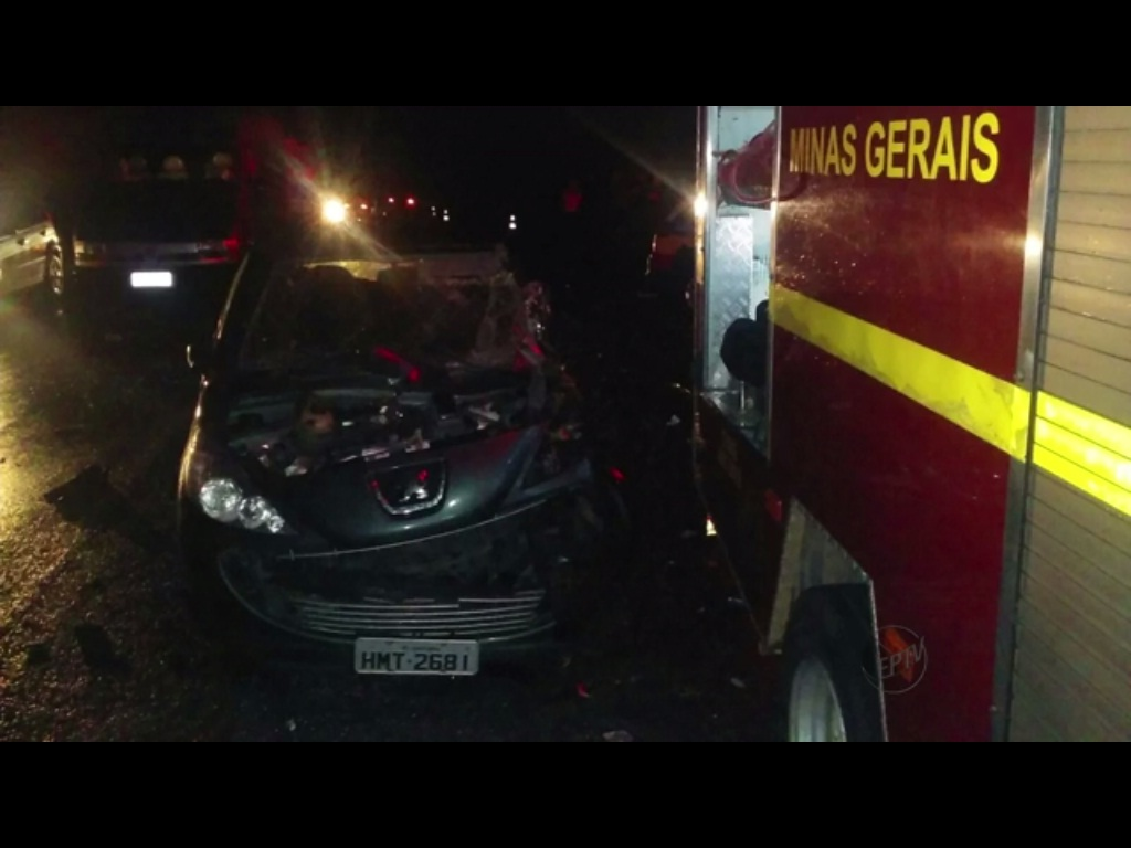 Acidente aconteceu no trecho entre Varginha e Elói Mendes.