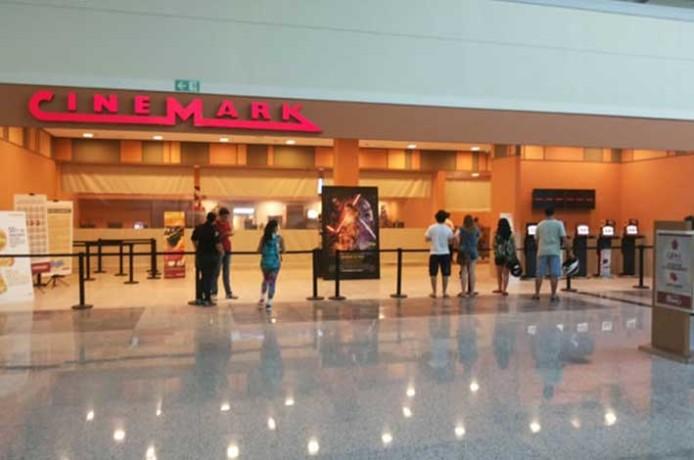 Ao todo, 800 lugares estão distribuídos entre as quatro salas de cinema com tecnologia 3D. Foto> O Melhor do Sul de Minas.