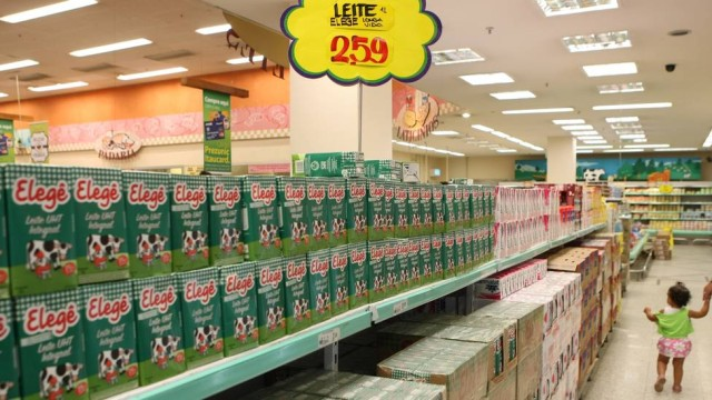 O preço médio do litro de leite no sul de Minas - de R$ 0, 83 - divulgado pelo CEPEA (Centro de Estudos Avançados em Economia Aplicada)