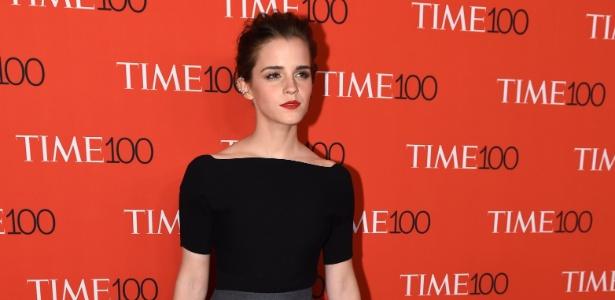 """A atriz Emma Watson, que interpretou Hermione nos filmes da saga """"Harry Potter"""""""