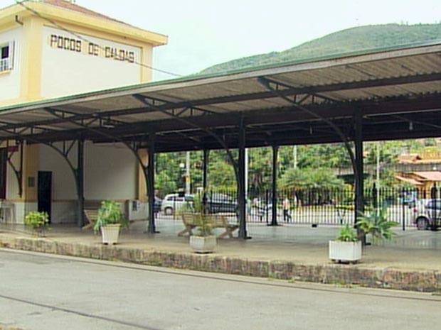 Trem turístico pode retornar entre Poços de Caldas e Águas da Prata (Foto: Reprodução EPTV)