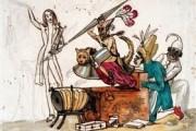 Galeria abre exposição de caricaturas de Luciano Magno em Poços