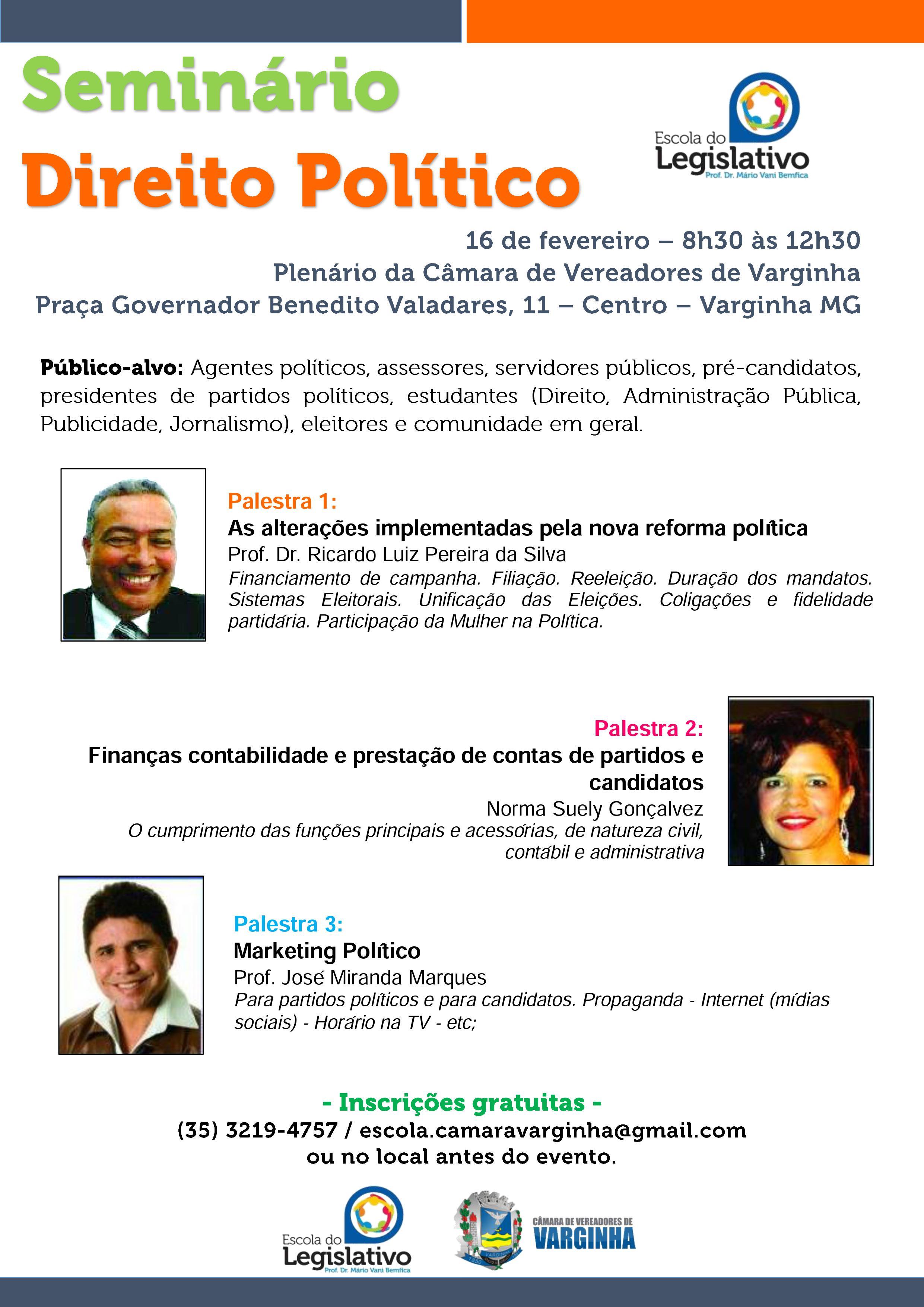 Seminário - Direito Politico - Varginha
