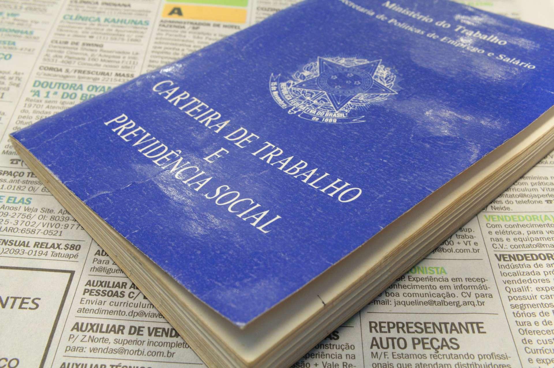 Saldo do emprego formal foi divulgado pelo Ministério do Trabalho.