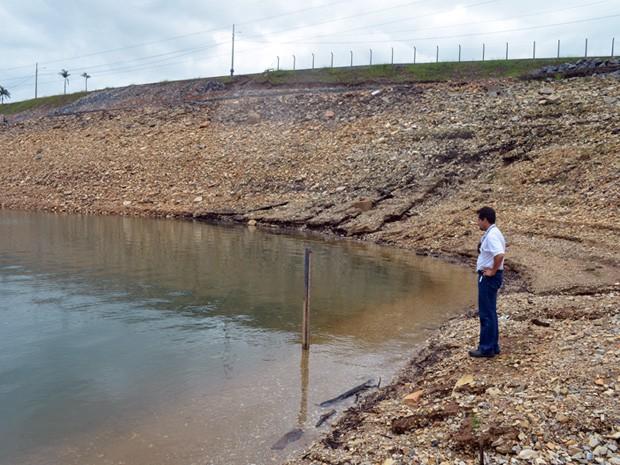 Lago de Furnas começa a se recuperar após chuvas de janeiro. (Foto: Tiago Campos / G1)