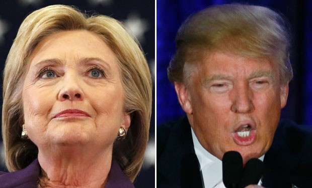 Hillary Clintone Donald Trump  (Foto: Reuters)