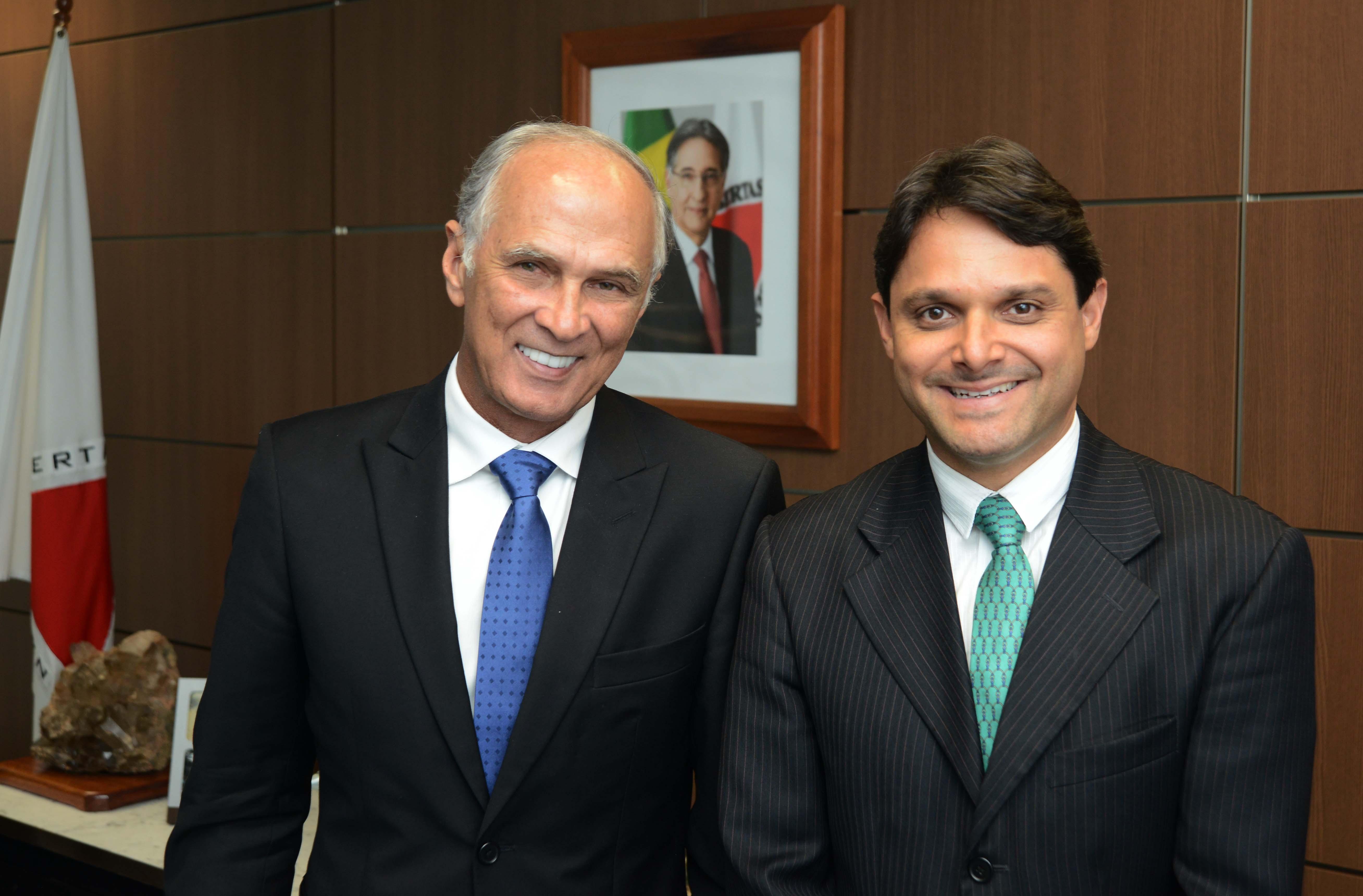 Audiencia com Presidente da Camara dos Vereadores da Cidade de Varginha,Romulo Azevedo. Credito:Renato Cobucci / Imprensa-MG