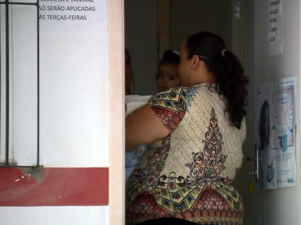 Segundo Secretaria de Saúde, distribuição de vacinas já está sendo normalizada (Foto: Reprodução EPTV)