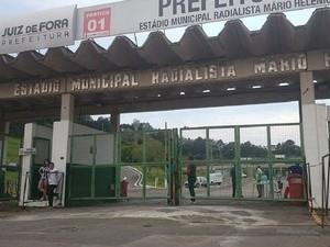 Furto foi registrado na bilheteria do Estádio Municipal (Foto: Bruno Ribeiro/Globoesporte.com)