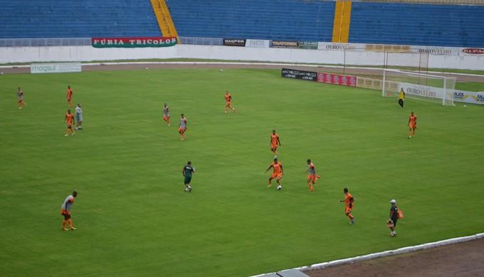 Boa Esporte enfrenta duas equipes da capital das rodadas finais (Foto: Régis Melo)