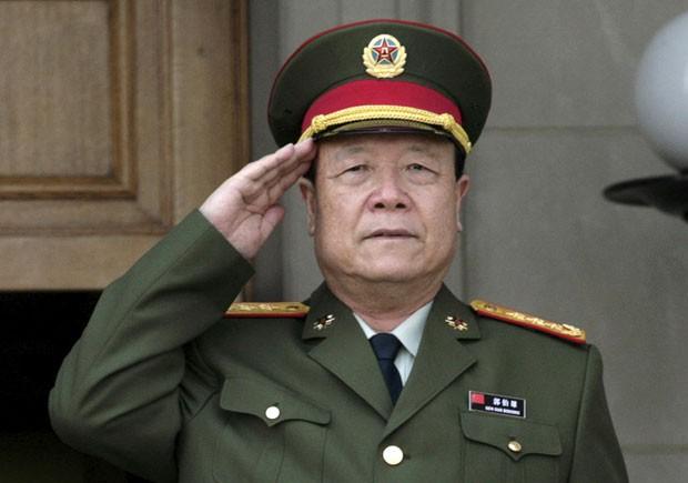 General da reserva, Guo Boxiong confessou ter recebido subornos (Foto: Yuri Gripas/Reuters)