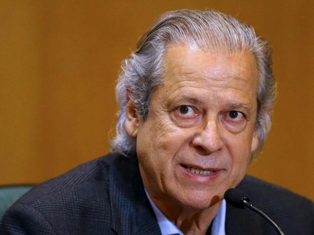 O ex-ministro José Dirceu está preso no Complexo Médico-Penal em Pinhais, no Paraná (Foto: Rodolfo Buhrer/Reuters)