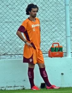 Bruno Lucas foi emprestado ao Sub-20 do Flamengo (Foto: Régis Melo)