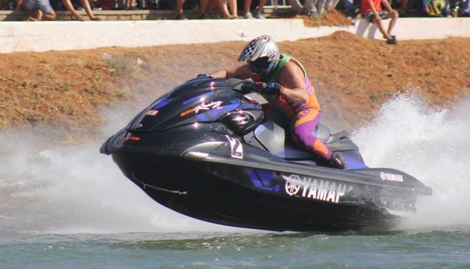 Valdir Brito Júnior foi o vencedor do 28º Campeonato Brasileiro de Moto Aquática (Foto: Divulgação)