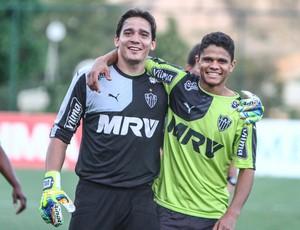 Uilson e Douglas Santos vão com a Seleção para a Olímpiada do Rio (Foto: Bruno Cantini/CAM)