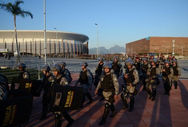 Militares estarão disponíveis como força de contingência, na segurança de autoridades e atletas