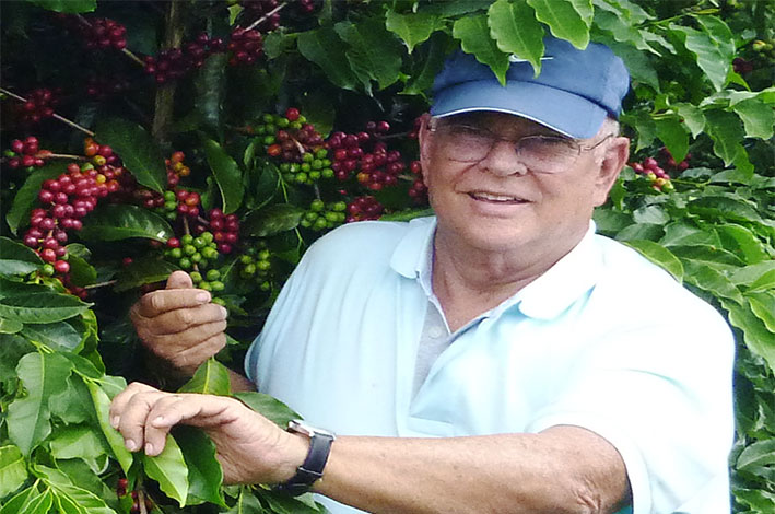 Concurso homenageará David Ottoni Filho, homenageado do 9º Concurso de Qualidade dos Cafés de Poços de Caldas. / Foto: Divulgação