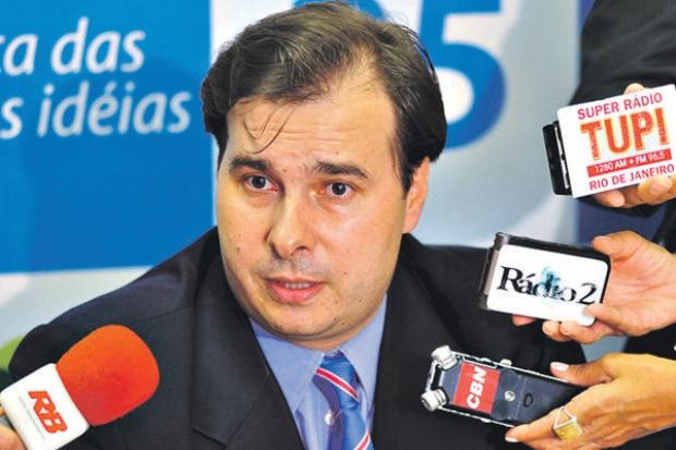 Rodrigo Maia (DEM-RJ) não responde a processo, mas teve seu nome envolvido na operação Lava Jato