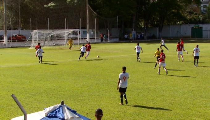 Santos e Internacional vão decidir 1º lugar do Grupo G na Taça BH (Foto: Reprodução EPTV)