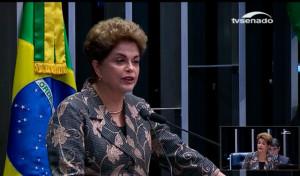 A presença de Dilma no julgamento marca a fase final do processo