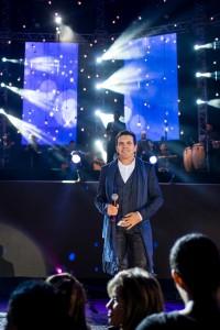 Paulinho Reis, natural de Conceição do Rio Verde, cantou na última terça (23) na 61ª Festa do Peão de Barretos