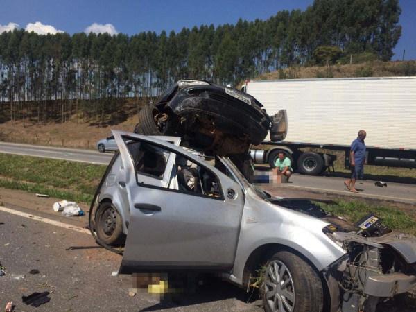 Três-morrem-em-acidente-na-Fernão-Dias-próximo-à-Campanha-01-600-x-450