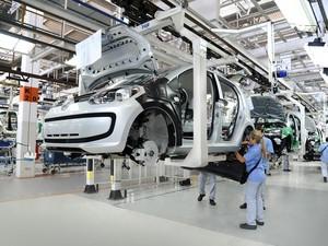 Produção em Taubaté está parada desde o último dia 2 por falta de peças (Foto: Divulgação/VW)
