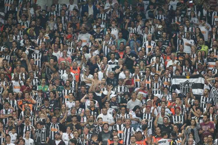 Venda online de ingressos do jogo deste domingo para sócios do Atlético começará nesta terça-feira