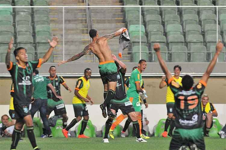 O América voltou a vencer no Campeonato Brasileiro