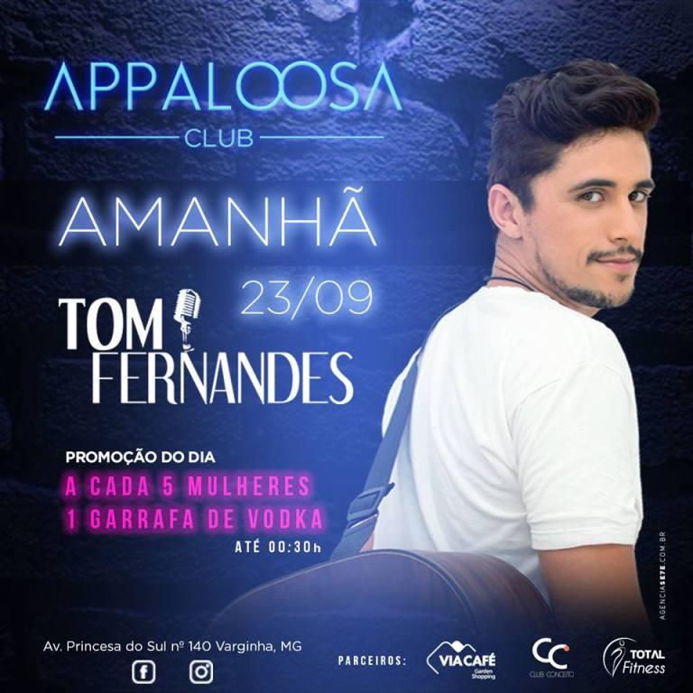 Appaloosa Club traz Tom Fernandes nesta sexta – Jornal Correio do Sul