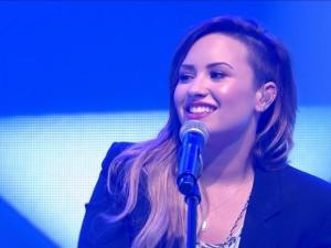 A cantora americana Demi Lovato (Foto: Reprodução)
