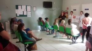 Os estudantes do curso de Nutrição do Centro Universitário do Sul de Minas realizaram diversas atividades de orientação nutricional ao longo do mês de agosto