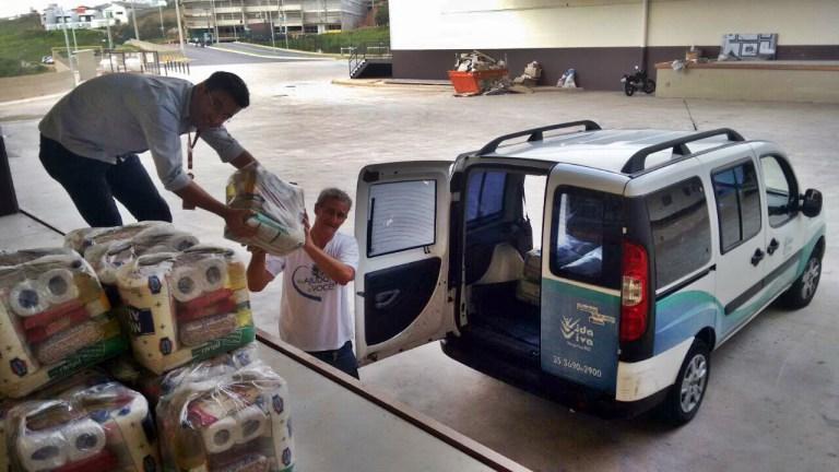 No mês de outubro, o shopping beneficiou a Associação do Voluntariado de Varginha Vida Viva
