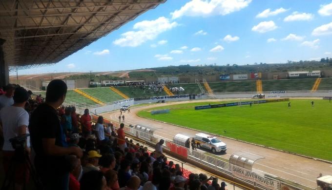 Boa Esporte disponibilizou 9.990 ingressos para o jogo de volta da final da Série C contra o Guarani (Foto: Danilo Alves / GloboEsporte.com)