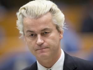 O deputado holandês Geert Wilders, líder do partido de extrema direita PVV, em foto de 18 de dezembro de 2014 (Foto: Evert-Jan Daniels/ANP/AFP)