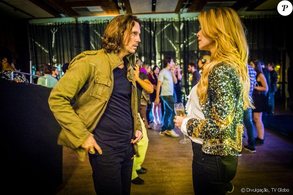 Alinne Moraes será casada com Vladimir Brichta na novela 'Rock Story' © Divulgação, TV Globo