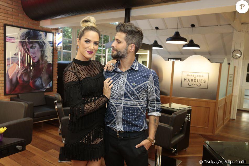 Giovanna Ewbank e Bruno Gagliasso lançaram salão nesta terça-feira (08) © Divulgação, Felipe Panfili