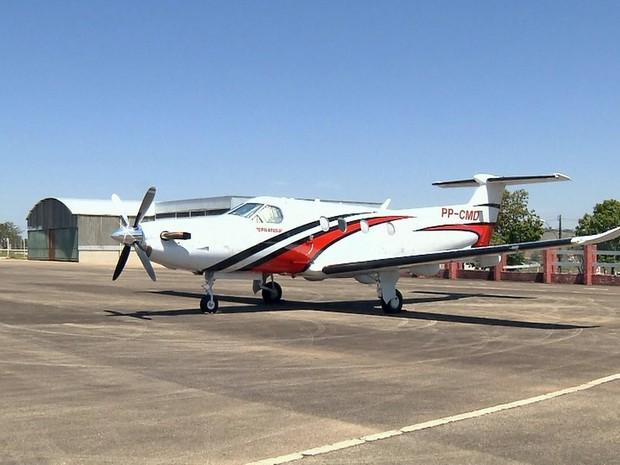 Aeroporto de Pouso Alegre, MG, recebe voos do serviço estadual de táxi aéreo a partir desta quarta-feira (2) (Foto: Reprodução/EPTV)