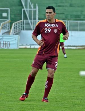 Itaqui atuou em 18 dos 23 jogos do Boa na Série C (Foto: Régis Melo)