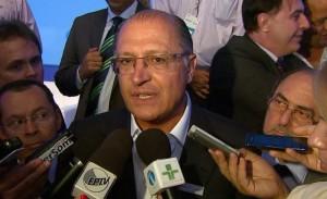 O governador de São Paulo, Geraldo Alckmin (Foto: Reprodução/ EPTV)