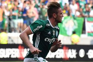 Fabiano marcou o gol do título do Palmeiras na vitória por 1 a 0 sobre a Chapecoense, pelo Brasileiro