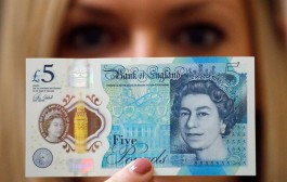 Vegetarianos britânicos se revoltam com a nova nota de 5 libras
