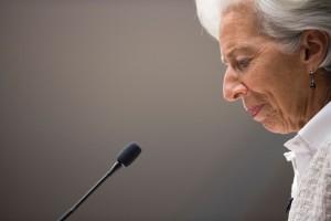 Diretora do Fundo Monetário Internacional (FMI), Christine Lagarde. (Foto: AFP)
