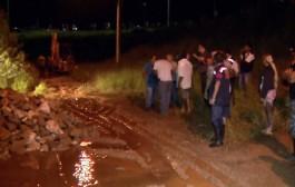 Após minimizar riscos, secretário de Obras admite risco em barragem da Dique 2