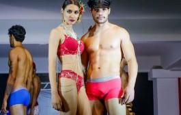 Vida Viva realiza desfile de moda íntima