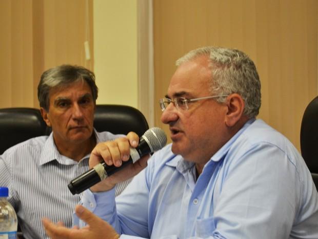 Secretário de Administração e Finanças Júlio Tavares apresentou na sexta-feira (13) o primeiro balanço das contas da Prefeitura de Pouso Alegre.