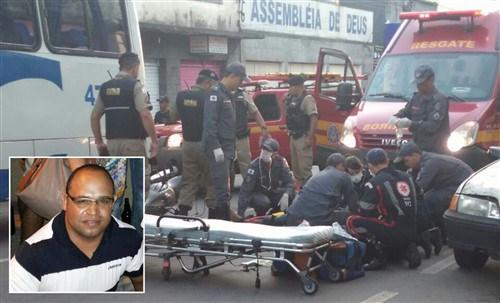 Acidente aconteceu na Avenida Major Venâncio. (Foto: Blog do Madeira)