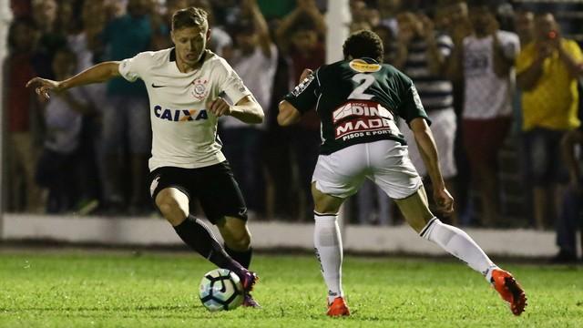 O Corinthians foi melhor ao longo do primeiro tempo